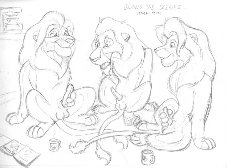 the lion from king sarafina In another world with my smartphone charlotte