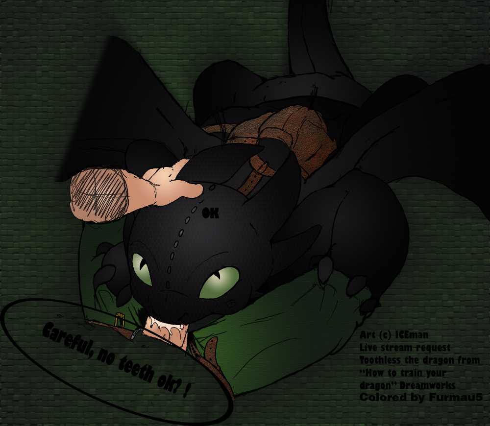 your nude how train dragon to Bendy the quest for the ink machine