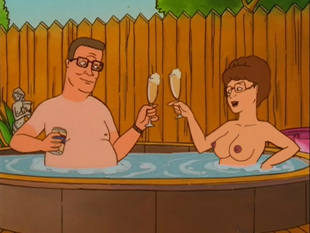 king of hill the nudes Forest of the blue skin gif
