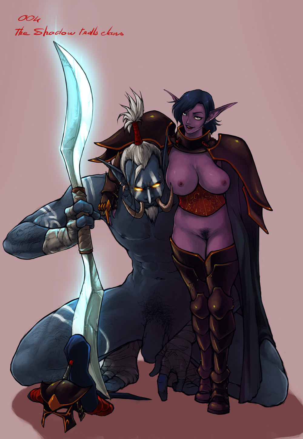death female night knight elf Star vs the forces of evil star nude