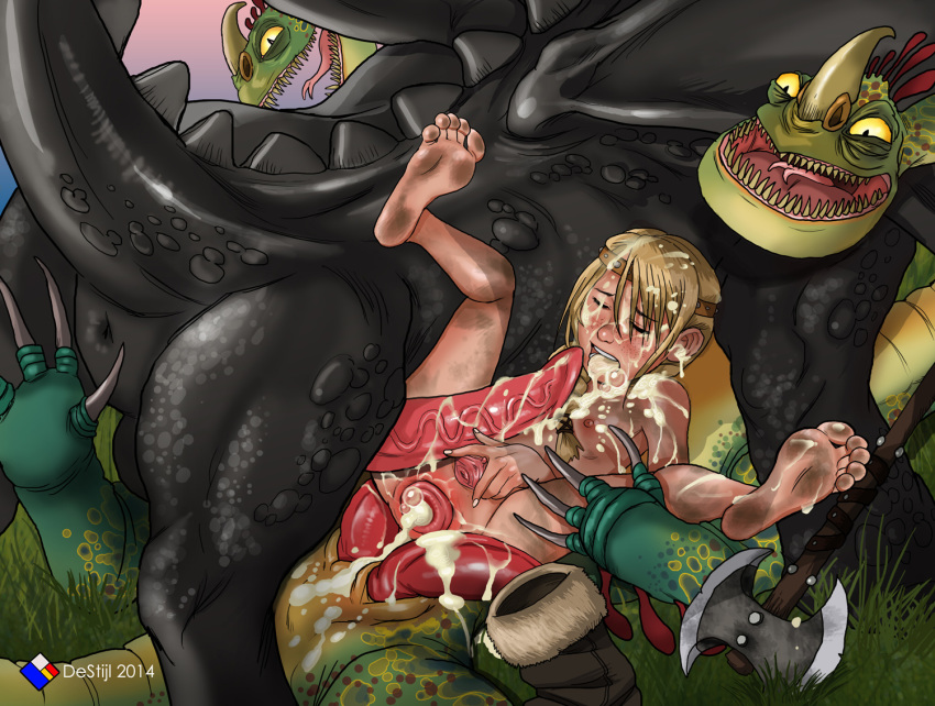 and to astrid your how hiccup train sex dragon Seven deadly sins king x diane