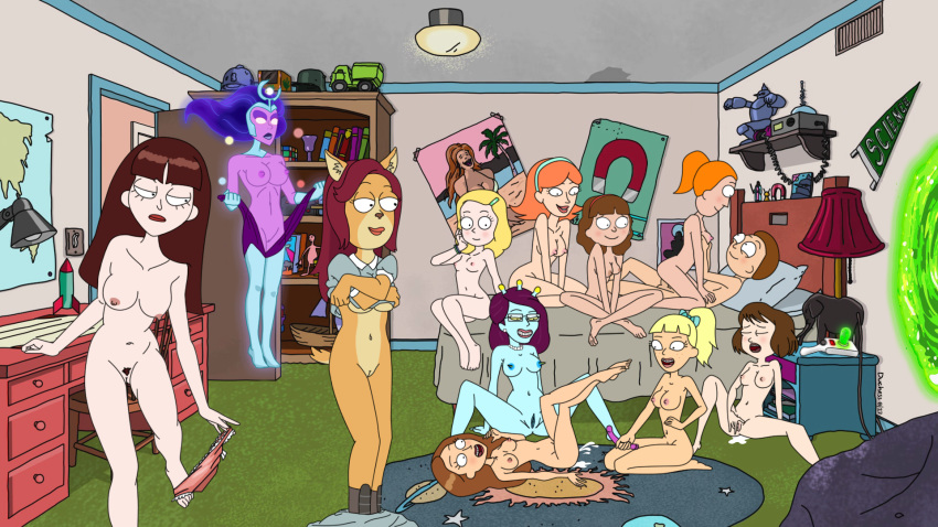 caroline justine and King of the hill sex toons